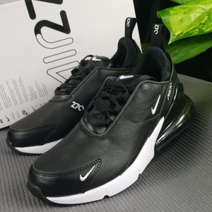 Air Max 270 Premium Leather Mens 7/Womens 9